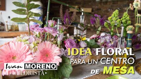 Video Crear un arreglo floral para un centro de mesa